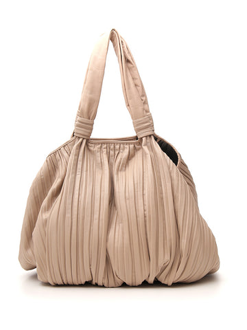 Max Mara Pleated Tote Bag