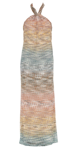 Missoni Sleeveless Zig Zag Maxi Dress