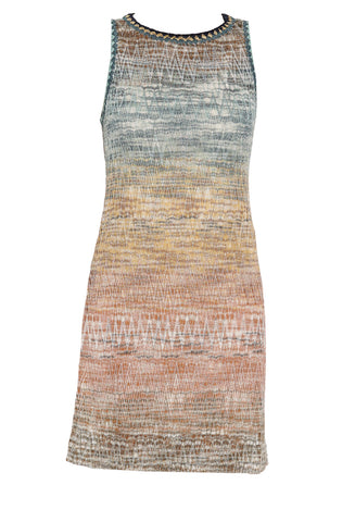Missoni Sleeveless Zig Zag Mini Dress