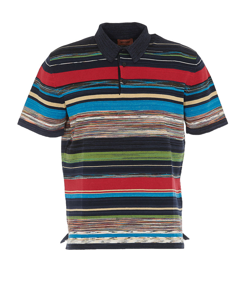 Missoni T-shirts MISSONI STRIPED POLO SHIRT