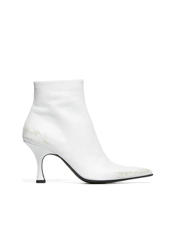 Mm6 Maison Margiela Pointed Toe Ankle Boots