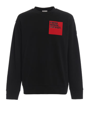 Moncler Slogan Detail Sweater