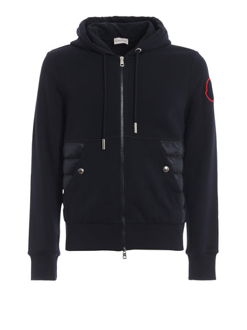 Moncler Logo Patch Hooded Jacket