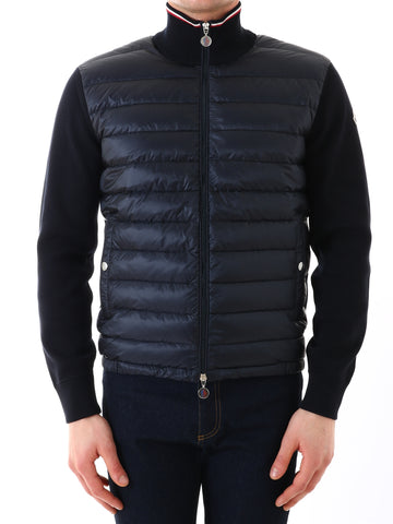 Moncler Padded Zip-Up Sweater