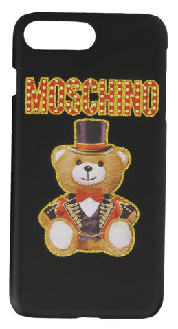 Moschino Teddy Circus Logo iPhone Cover