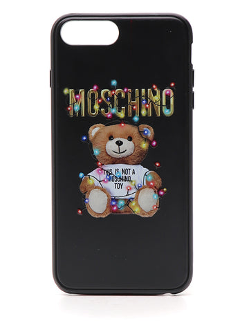 Moschino Teddy Logo iPhone 8 Cover