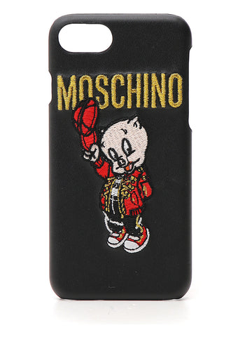 Moschino Looney Tunes Logo iPhone 8 Cover