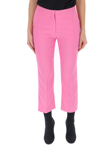 Mulberry Cropped Suit Pants