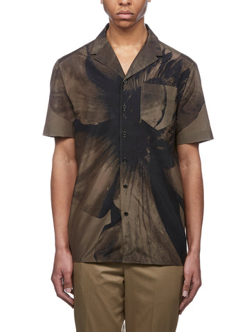 Neil Barrett Printed Button-Up Shirt