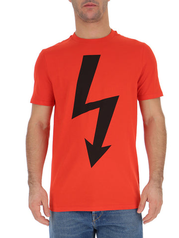 Neil Barrett Bolt Print T-Shirt