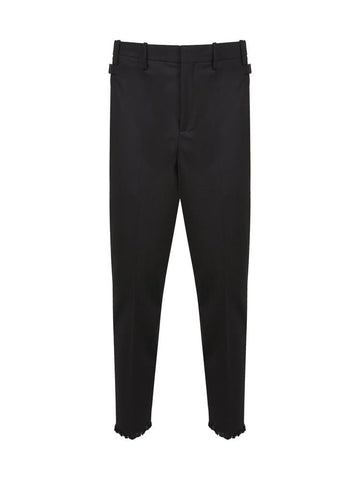 Neil Barrett Slim Fit Cropped Trousers