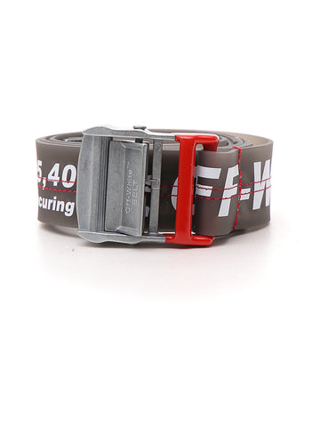 Off-White PVC Industrial Belt