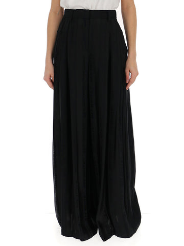 Off-White High Waisted Wide Leg Pants