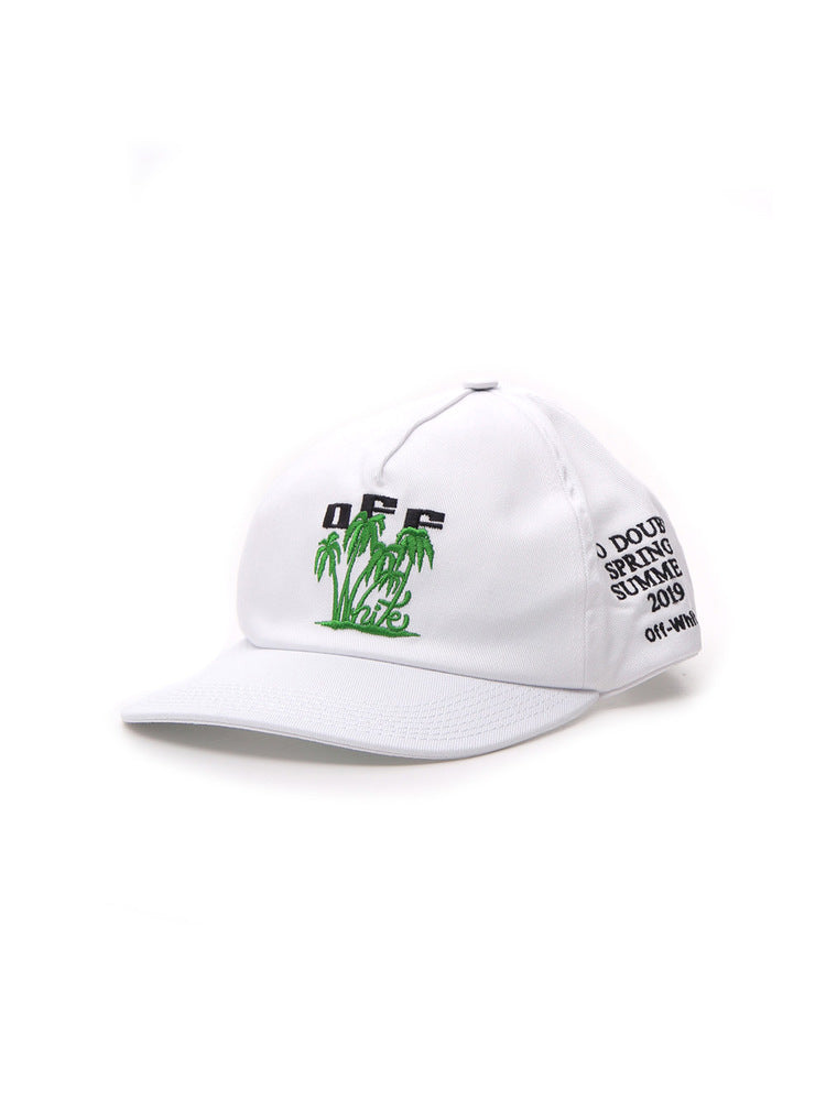 Off-White Palm Embroidered Basbeball Cap