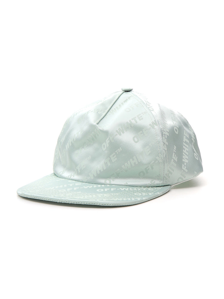 Off-White All-Over Logo Baseball Cap