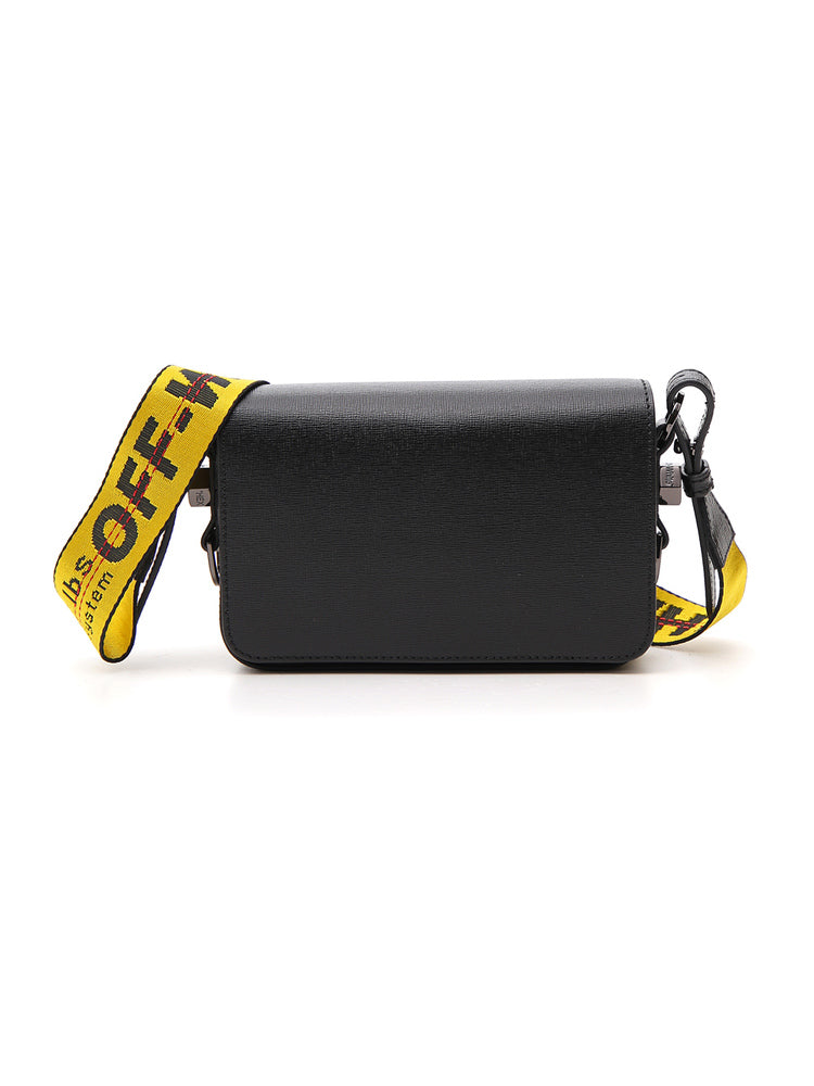Off-White Mini Leather Shoulder Bag
