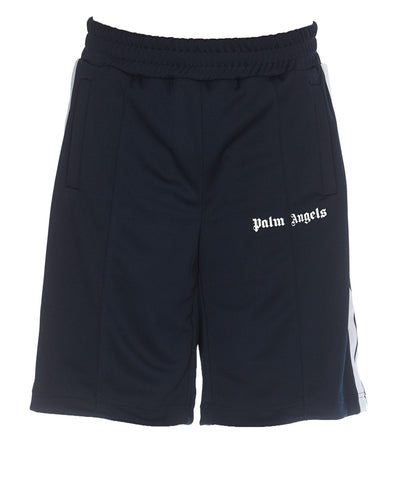 Palm Angels Side-Stripe Track Shorts