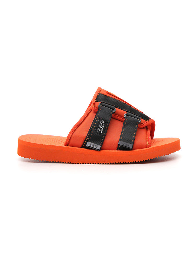 Palm Angels Slippers PALM ANGELS SUICOKE STRAP DETAIL LOGO SLIDES