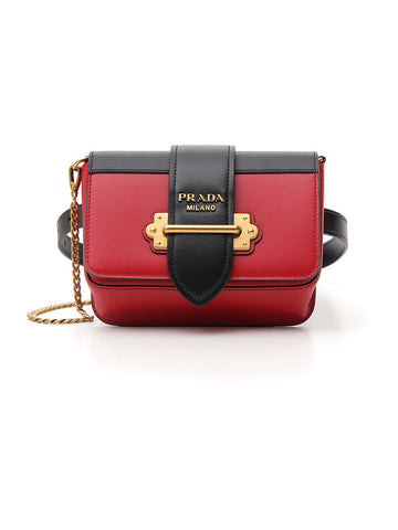 Prada Studded Chest Belt Bag