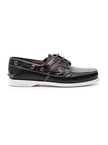 Prada Lace-Up Boat Shoes