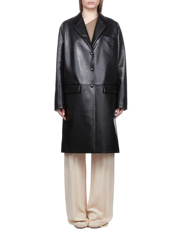Prada Buttoned Trench Coat