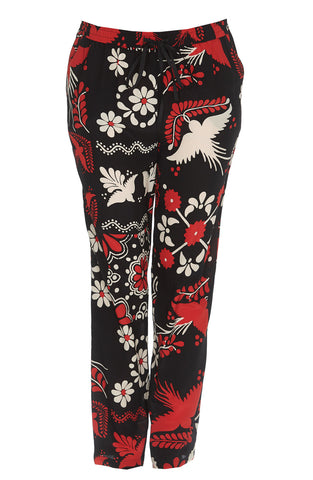 Red Valentino Mixed Print Pants