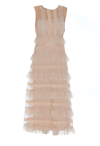 Red Valentino Layered Midi Dress