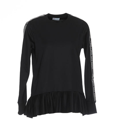 Red Valentino Frill Detail Sweater