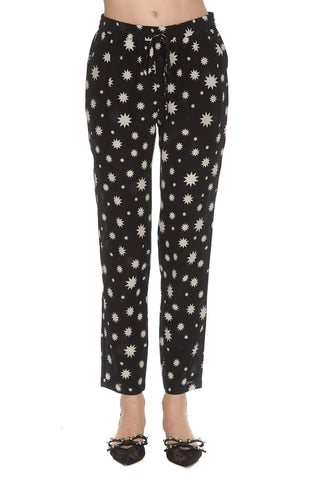 Red Valentino Star Printed Trousers