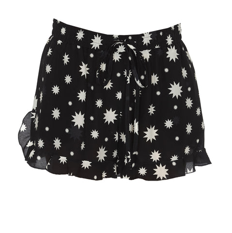Red Valentino Star Printed Shorts