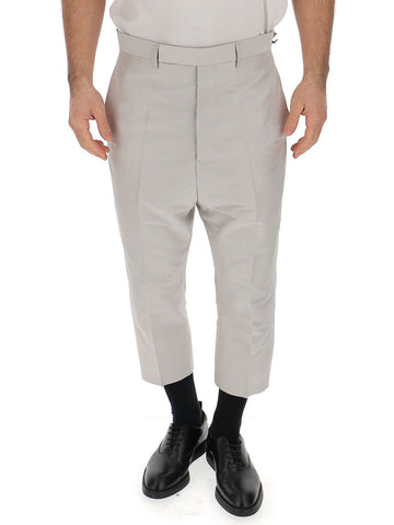 Rick Owens High Waist Cropped Trousers