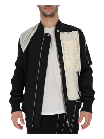 Rick Owens Stitch Detail Bomber Jacket