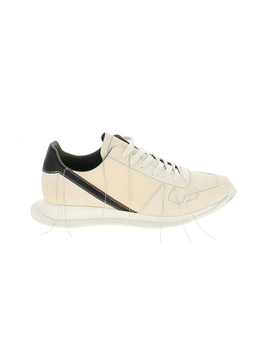 Rick Owens Stitch Detail Low-Top Sneakers