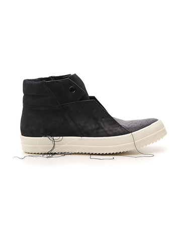 Rick Owens Zipped High-Top Sneakers