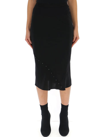 Rick Owens High Rise Pencil Skirt