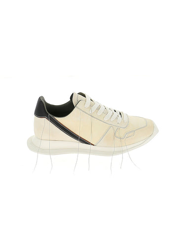 Rick Owens Stitch Detail Sneakers