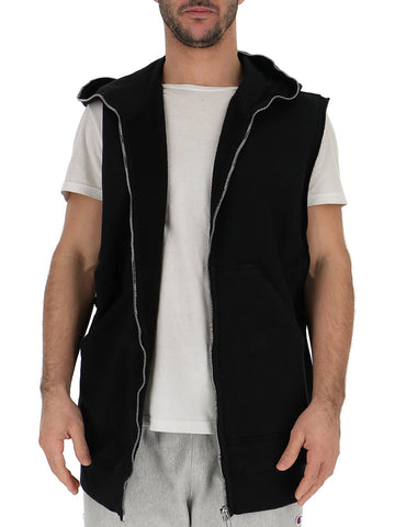 Rick Owens Drkshdw Hooded Zipped Vest