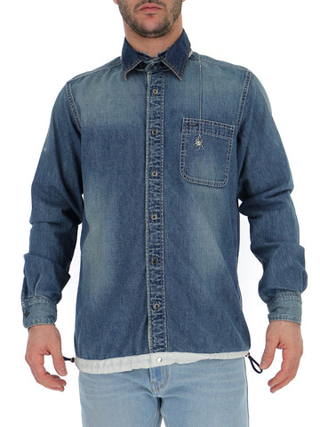 Sacai Buttoned Denim Shirt