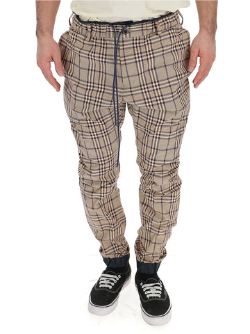 Sacai Check Drawstring Trousers