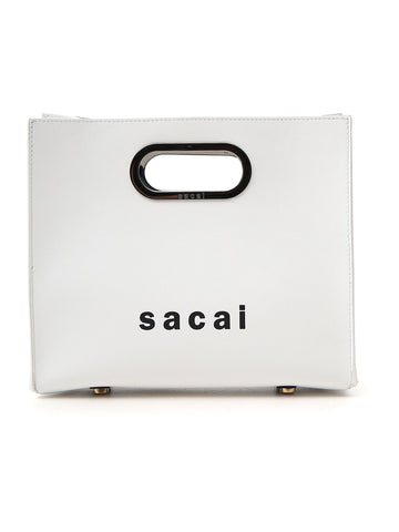 Sacai Logo Small Logo Tote Bag