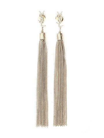 Saint Laurent LouLou Tassel Earrings