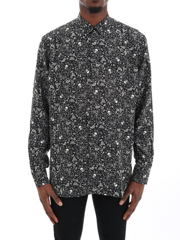 Saint Laurent Printed Shirt