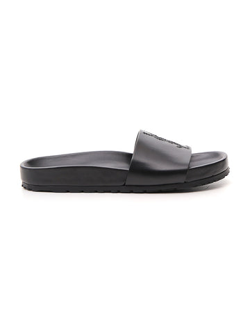 Saint Laurent Monogram Pool Slides