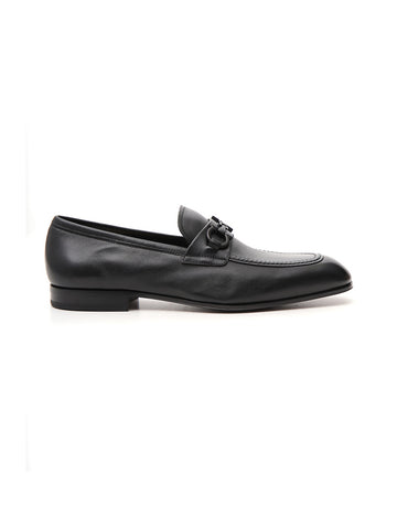 Salvatore Ferragamo Gancio Plain Loafers