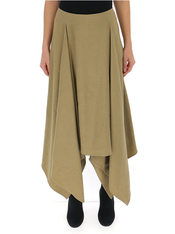 Salvatore Asymmetric Hem Skirt