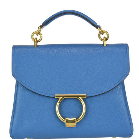 Salvatore Ferragamo Gancini Top Handle Bag
