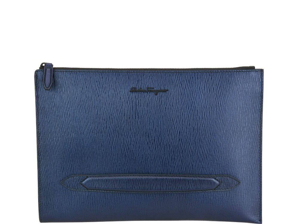 341e7f0829 Salvatore Ferragamo Zipped Clutch Bag – Cettire