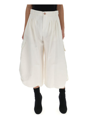 See By Chloé Cropped Oversized Pants