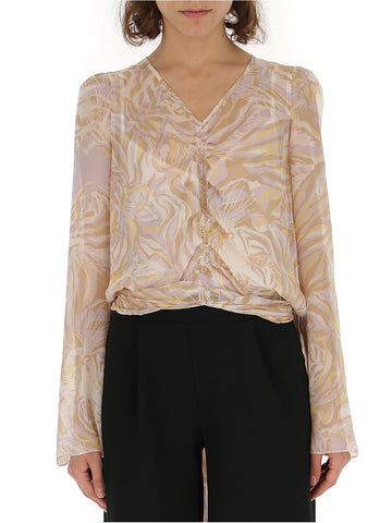 See By Chloé Sheer Printed Tunic
