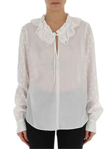 See By Chloé Ruffled Neckline Blouse